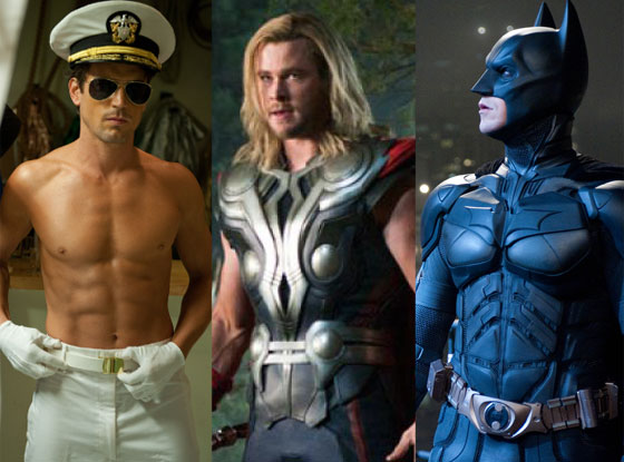 Magic Mike, The Avengers, The Dark Knight Rises