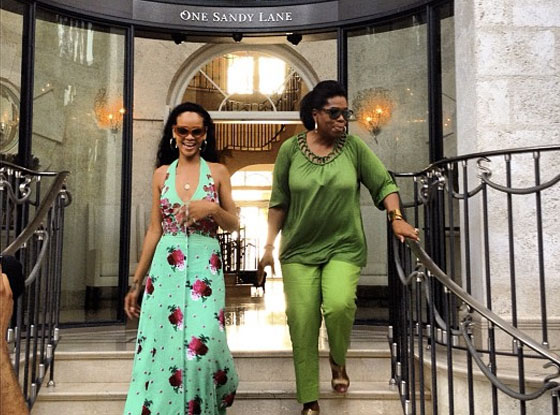 Rihanna, Oprah Winfrey