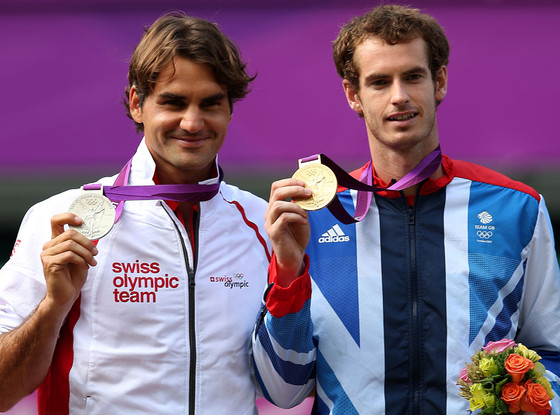 Roger Federer, Andy Murray, 2012 Summer Olympics