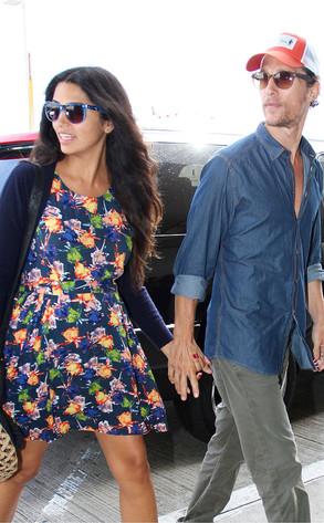 Matthew McConaughey, Camila McConaughey
