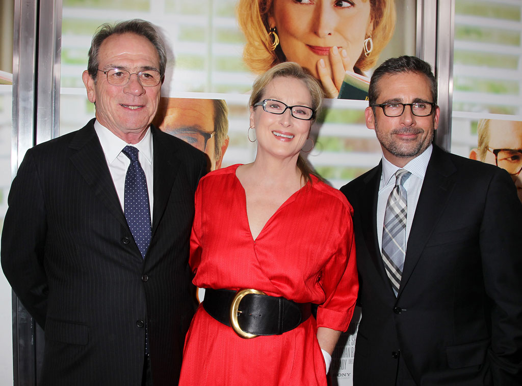 Tommy Lee Jones, Meryl Streep and Steve Carell