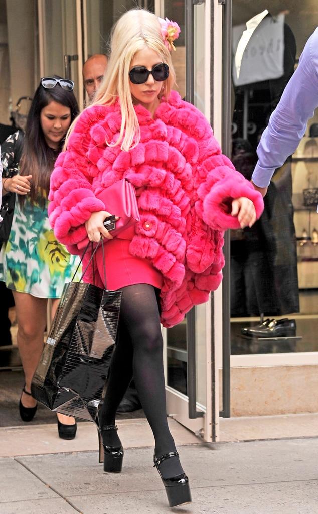 Lady Gaga, Pink Fur