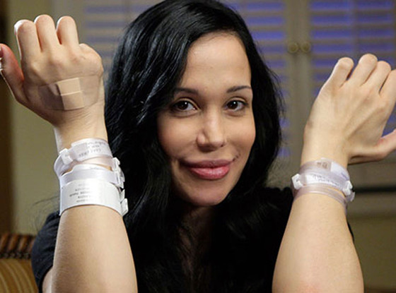Nadya Octomom Suleman, hospital bracelets