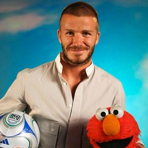 David Beckham, Sesame Street