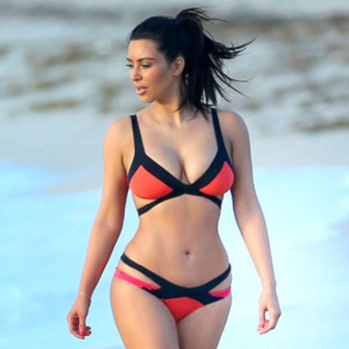 How to Get Kim Kardashian's Sexy Agent Provocateur Bondage Bikini