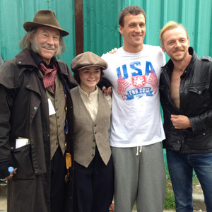 Ryan Lochte, Patrick Stewart, Maisie Williams, Simon Pegg