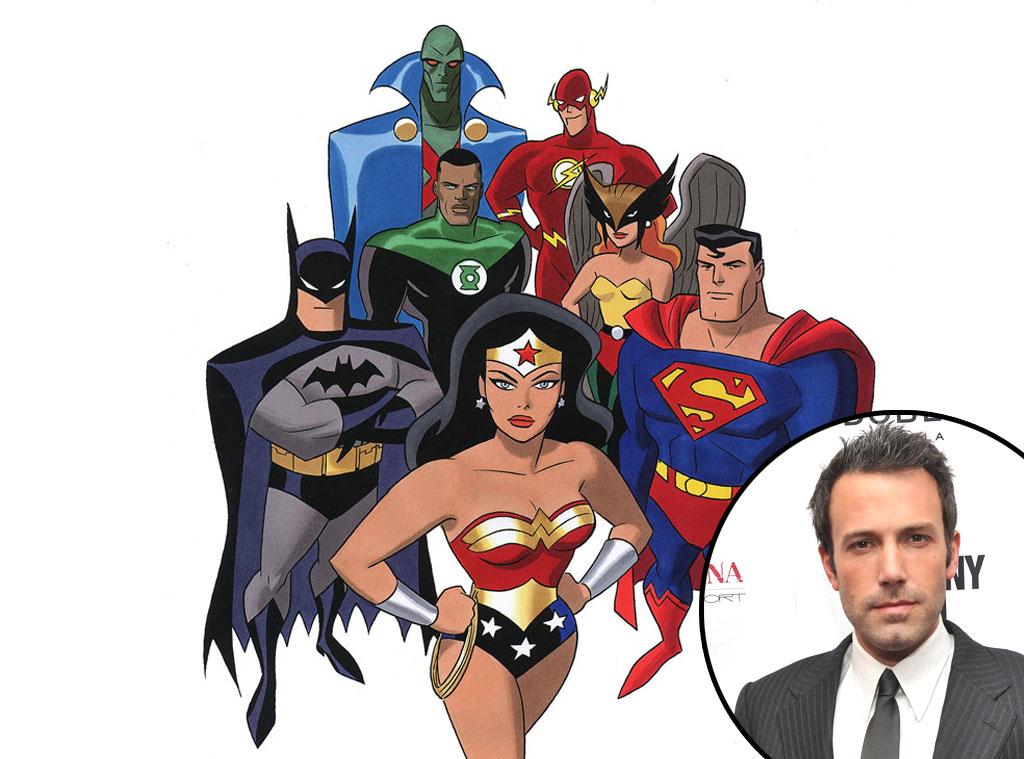 The Justice League cartoon, Ben Affleck