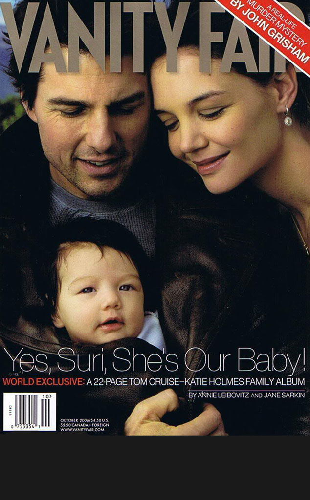 Black Bar for Galleries, Suri, Tom Cruise, Katie Holmes, Vanity Fair Cover