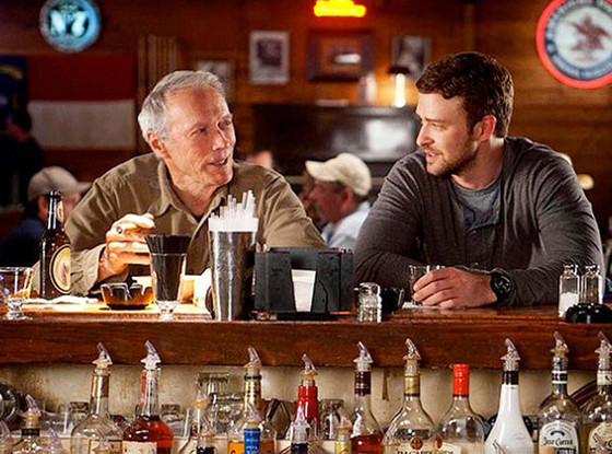 Trouble with the Curve, Clint Eastwood, Justin Timberlake