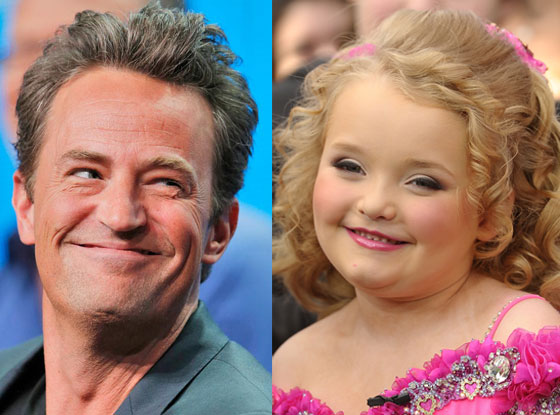 Matthew Perry, Honey Boo Boo
