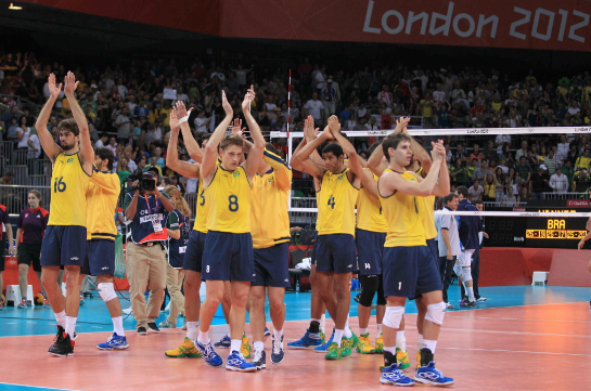 Jogadores brasileiros, volei, volley, Brasil