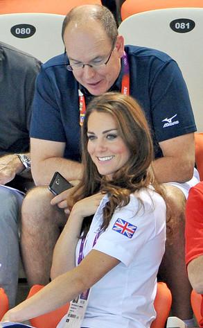 Catherine, Duchess of Cambridge, Kate Middleton, Prince Albert II