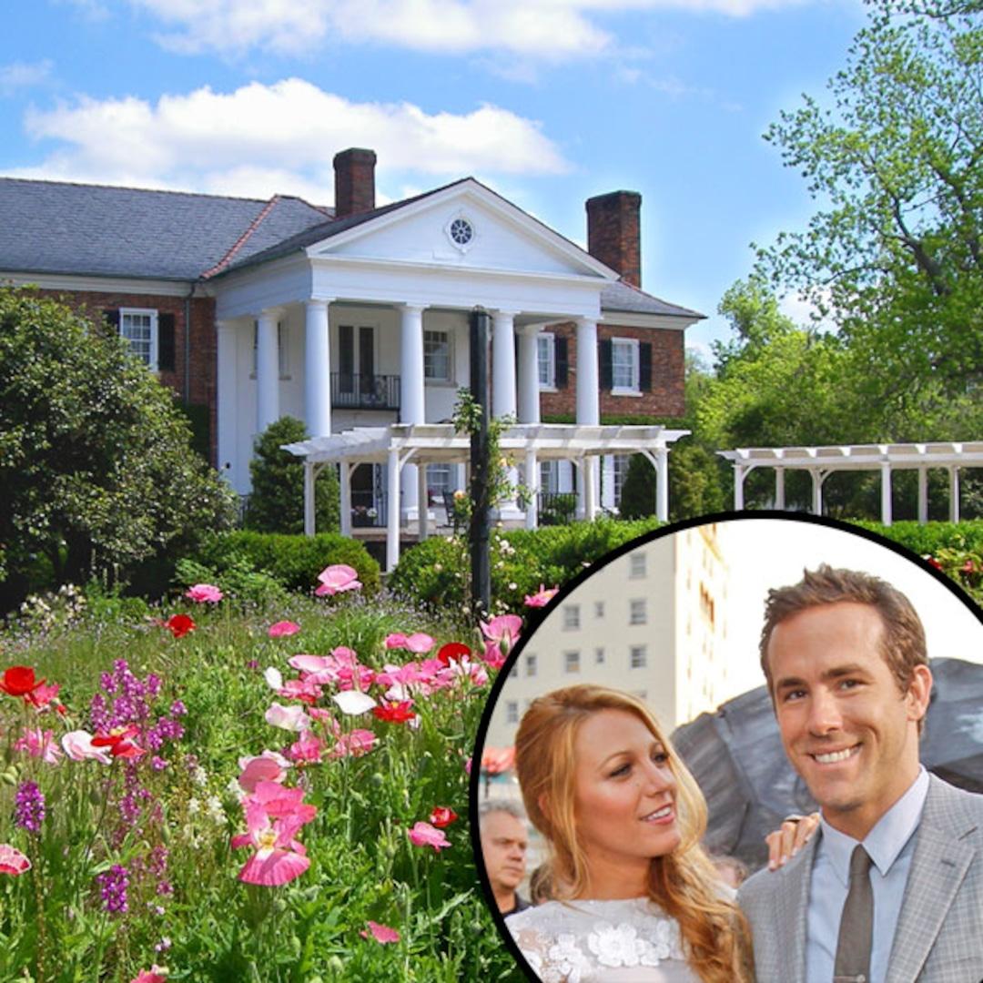 Boone Hall Plantation Ryan Reynolds Wedding