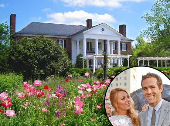 Boone Hall Plantation, Blake Lively, Ryan Reynolds