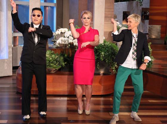 PSY, Britney Spears, The Ellen DeGeneres Show