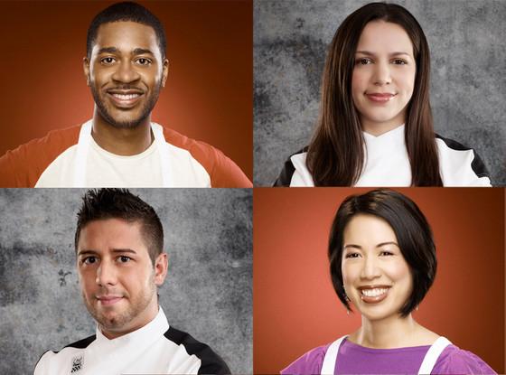 Hell's Kitchen, Christina Wilson, Justin Anitorio, MasterChef, Christine Ha, Josh Marks