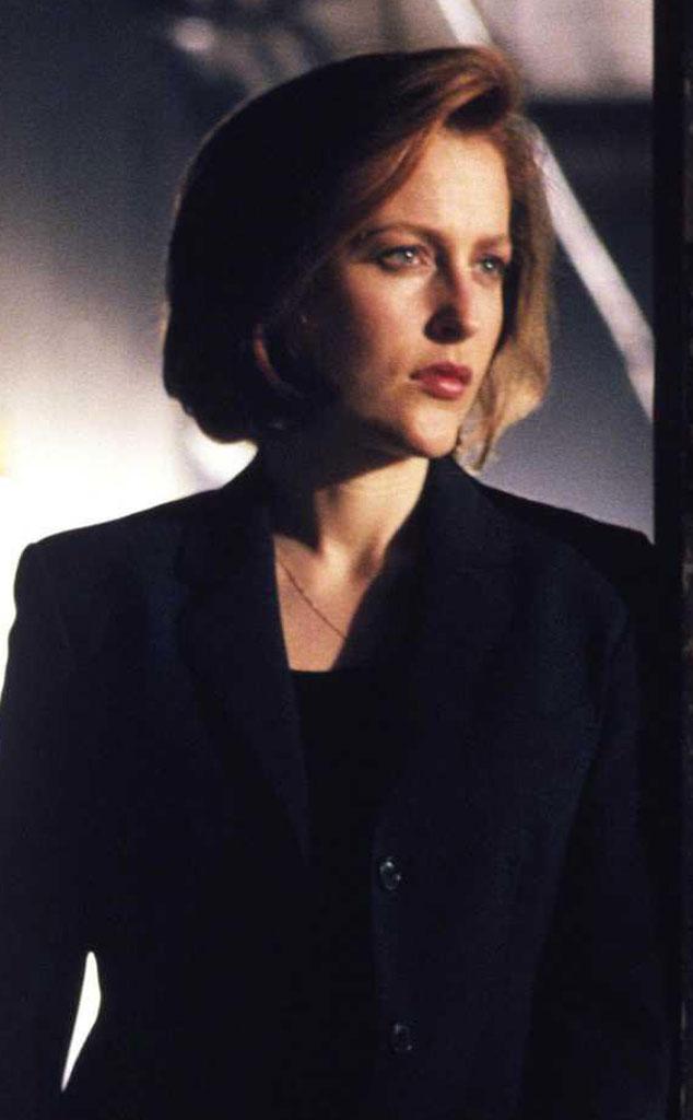Gillian Anderson, X-Files