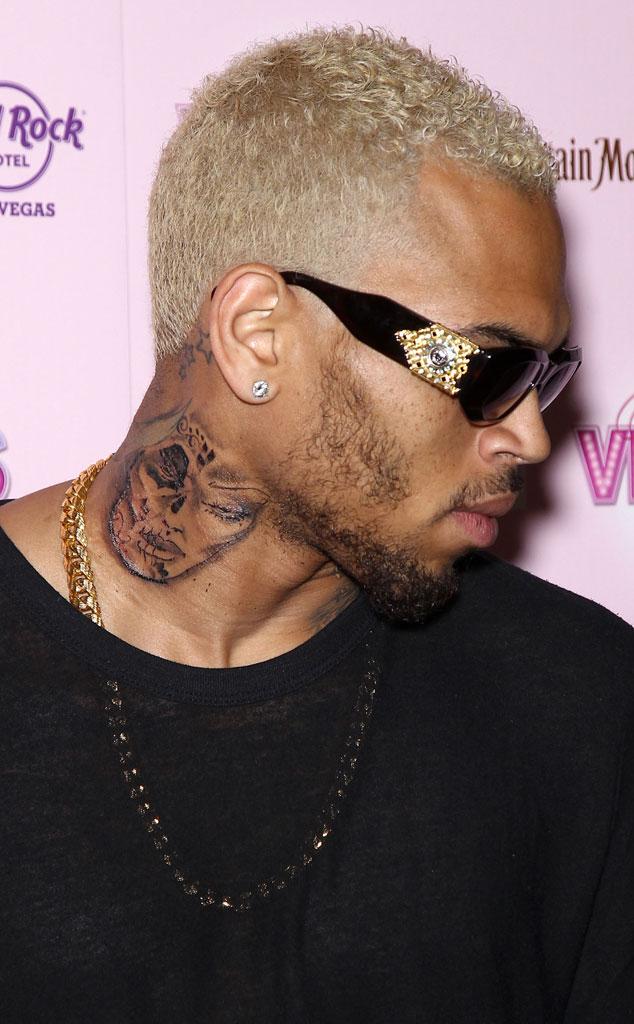 Chris Brown Tattoo, Drawing
