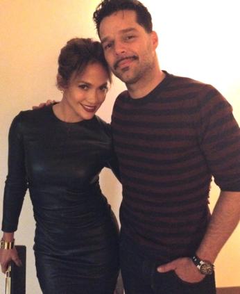 Ricky Martin, Jennifer López