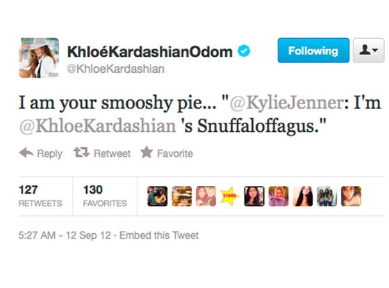 Keeping Up With The Kardashians, Twitter