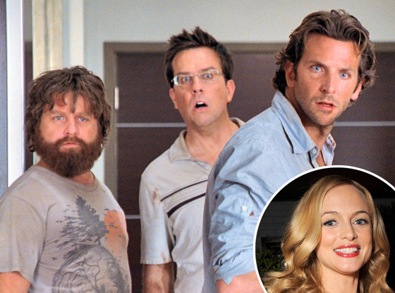 Zach Galifianakis, Ed Helms, Bradley Cooper, The Hangover, Heather Graham