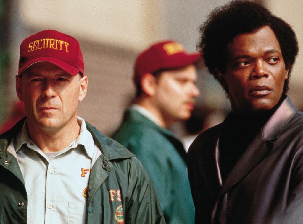 Bruce Willis, Samuel L. Jackson, Unbreakable