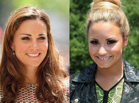 Kate Middleton, Catherine, Duchess of Cambridge, Pippa Middleton, Demi Lovato