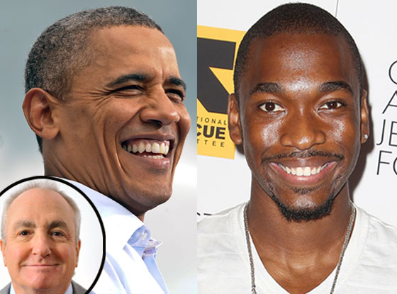 US President Barack Obama, Lorne Michaels, Jay Pharoah