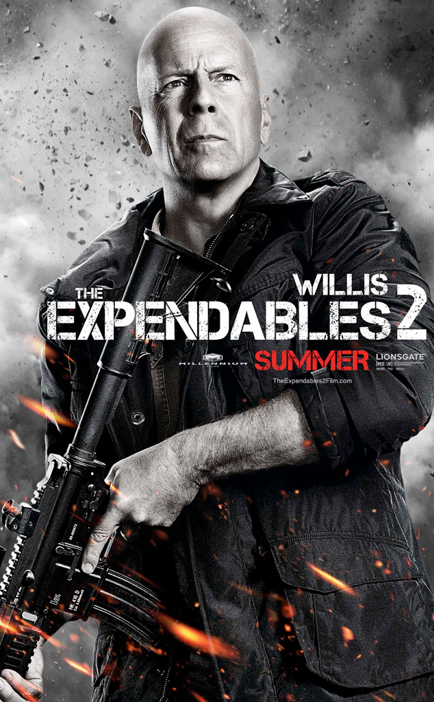 Bruce Willis, The Expendables