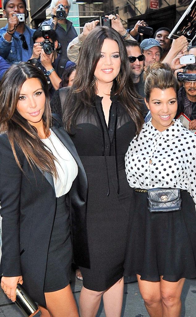 Kim, Khloe and Kourtney Kardashian