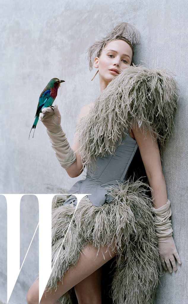 Jennifer Lawrence, W Magazine inside