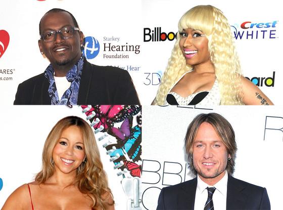Mariah Carey, Keith Urban, Nicki Minaj, Randy Jackson