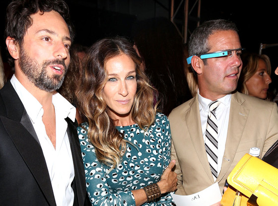 Sergey Brin, Sarah Jessica Parker, Andy Cohen