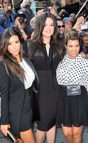 Kim, Khloe and Kourtney Kardashian