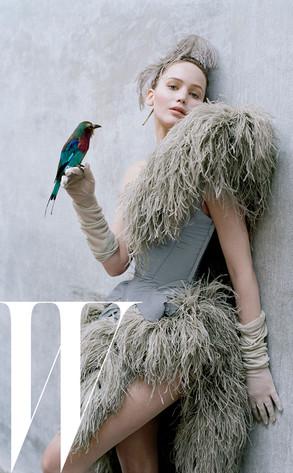 Jennifer Lawrence, W Magazine inside