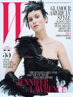 Jennifer Lawrence, W Magazine Cover