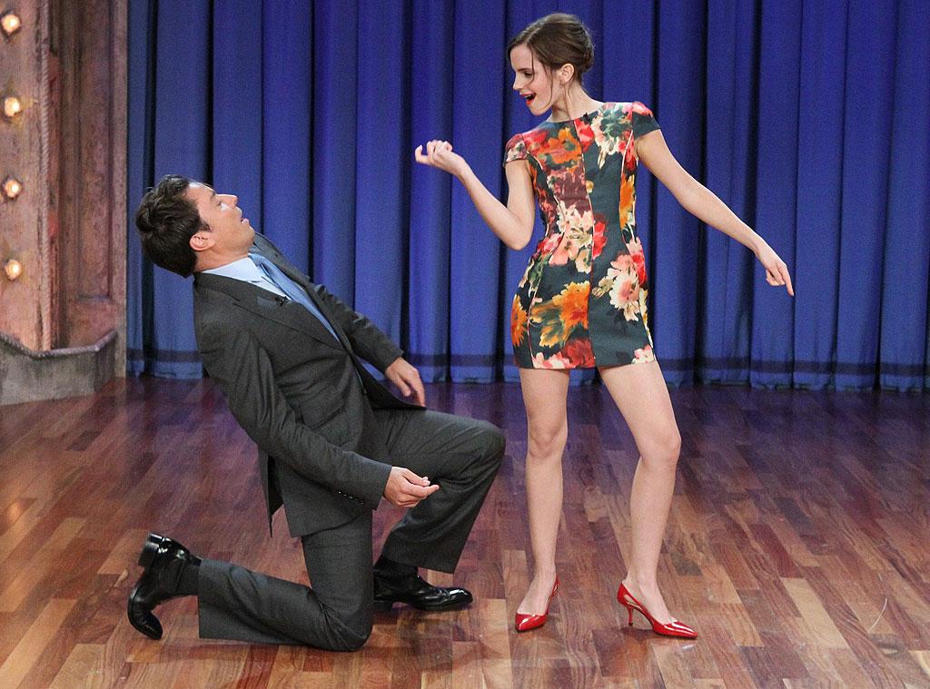 Jimmy Fallon, Emma Watson
