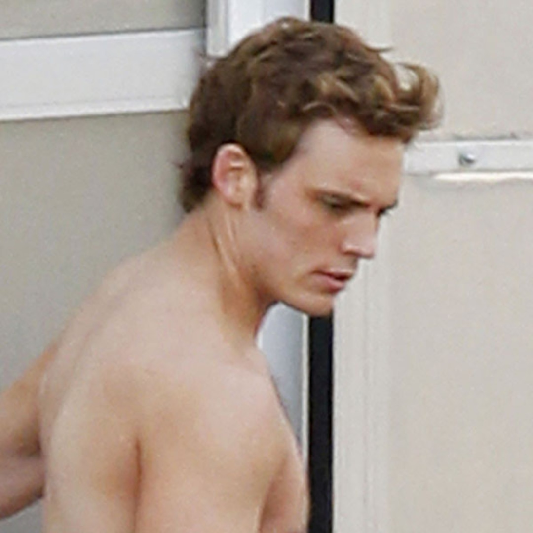 New Hunger Games: Catching Fire Pics: Shirtless Sam ...