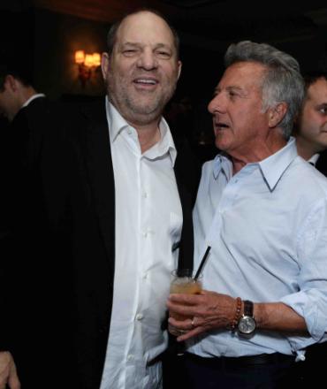 Harvey Weinstein, Dustin Hoffman