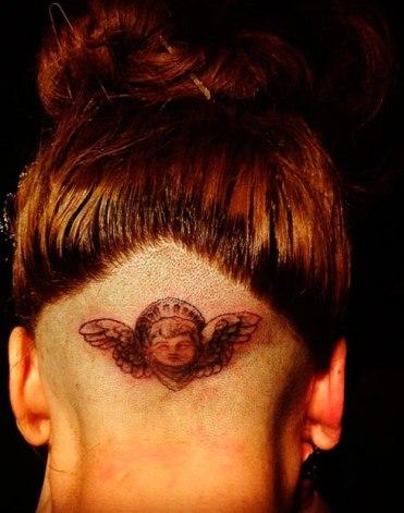 lady gaga, tatuaje