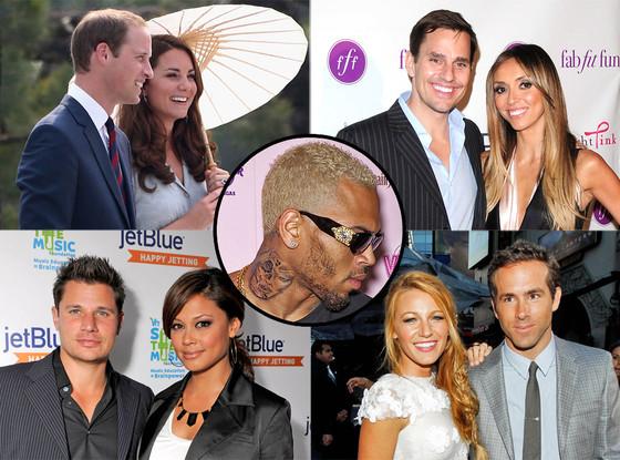 Week in Review Bill, Giuliana, Will, Kate, Nick, Vanessa, Ryan, Blake, Chris Brown