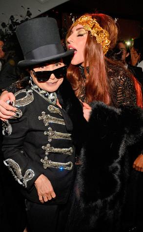 Lady Gaga, Yoko Ono