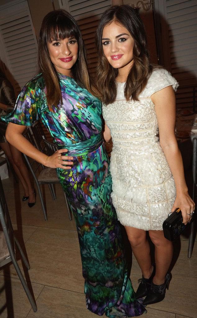 Lucy Hale, Lea Michele
