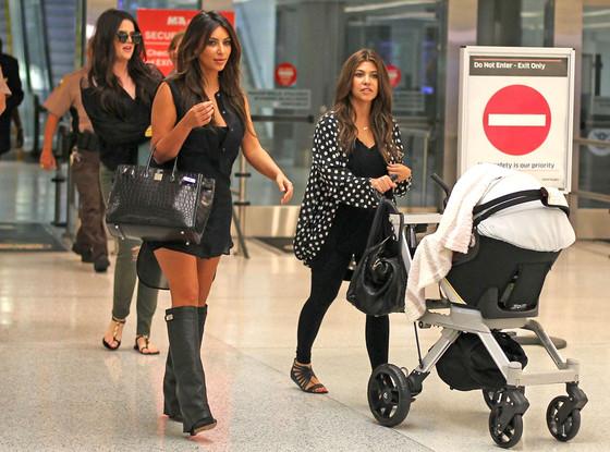Kourtney Kardashian, Khloe Kardashian Odom, Kim Kardashian, Mason, Penelope