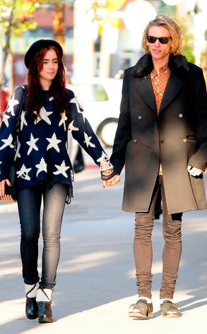 Lily Collins, Jamie Campbell Bower
