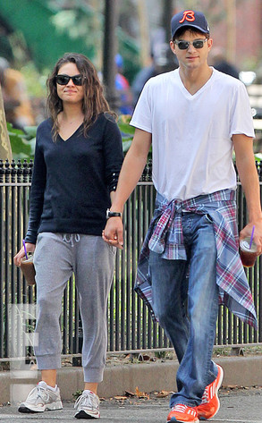 EXCLUSIVE WATERMARK, Ashton Kutcher, Mila Kunis