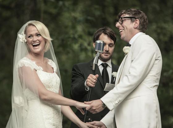 Emily Ward, Patrick Carney, Will Forte, Wedding