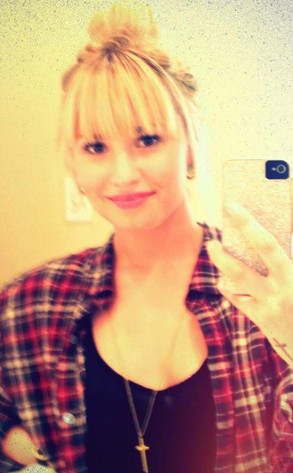 Demi Lovato Twit Pic
