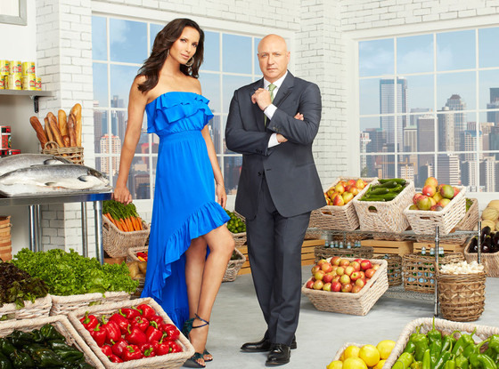 Padma Lakshmi, Tom Colicchio, Top Chef Seattle