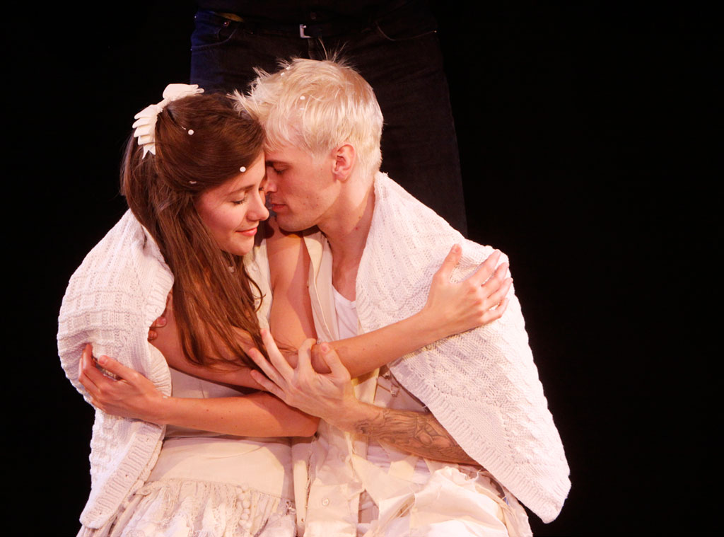 Juliette Trafton, Aaron Carter, Fantasticks, Off-Broadway